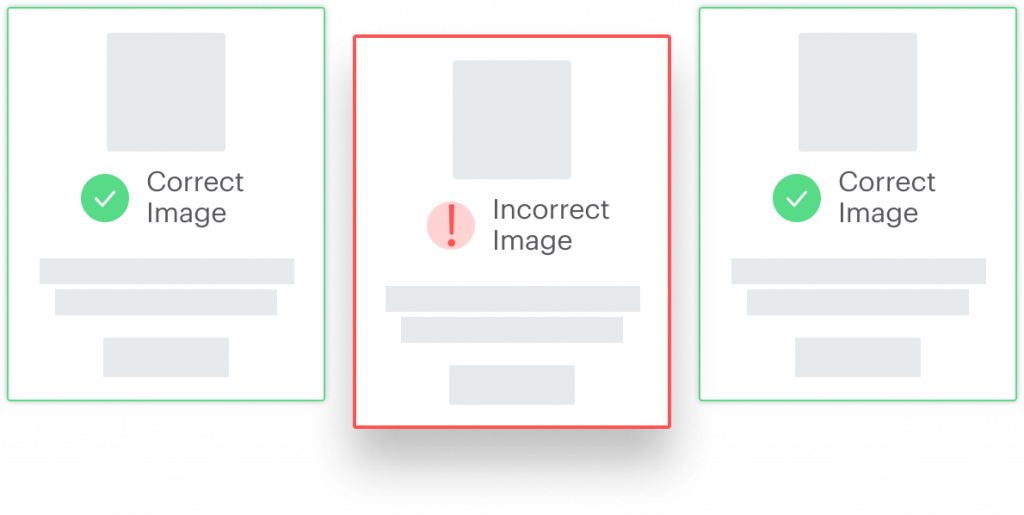 Correct brand images